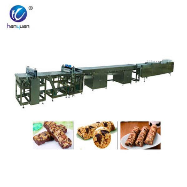 Hot selling granola bar production line machine forming of CE and ISO9001 standard