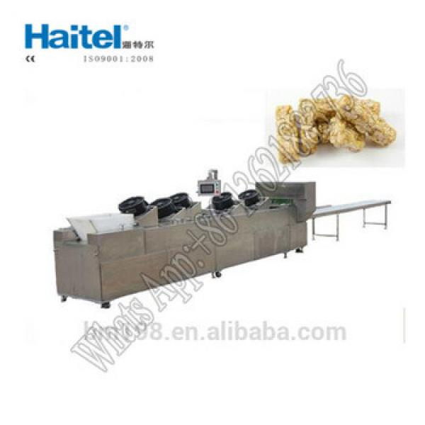 China Nutritional Snack Food Cereal Granola Bar Making Machine