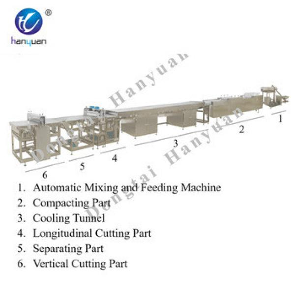 Granola energy bar machine chocolate production line
