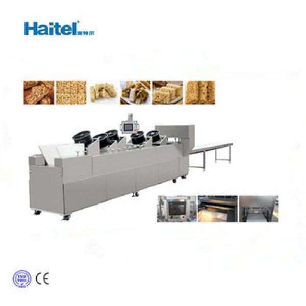 2018 new condition automatic small granola bar making machine/production line
