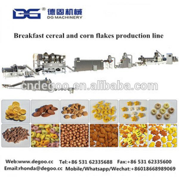 Automatic expanded corn flakes grain flakes machine bulk corn flakes machine