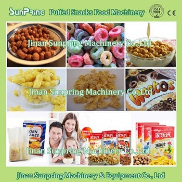 Good Quality Breakfast Cereal Making Machine in China Fruit Loops Coco Krispies Cruncheroos Honey Loops Machine