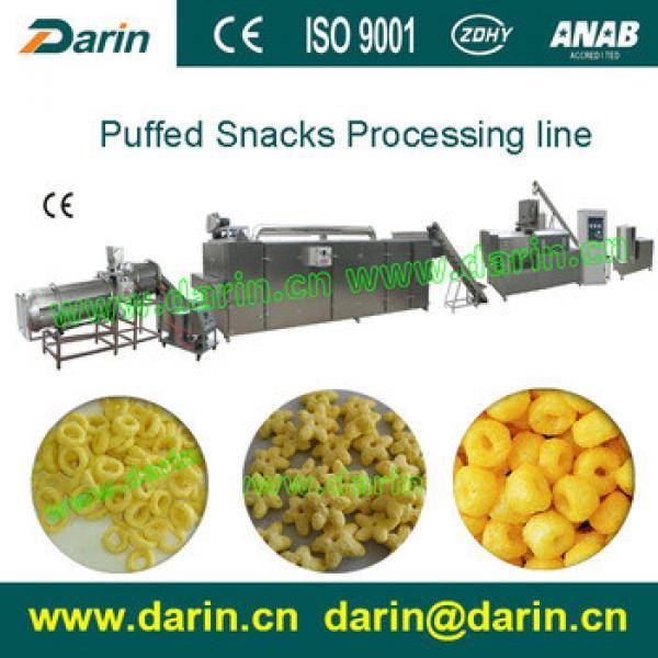 Newly Designed puffed corn snacks making machine