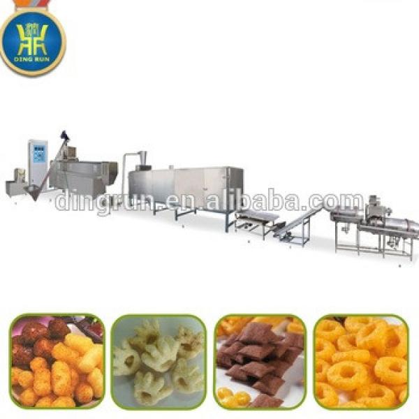 breakfast cereals making machine corn flakes processing line