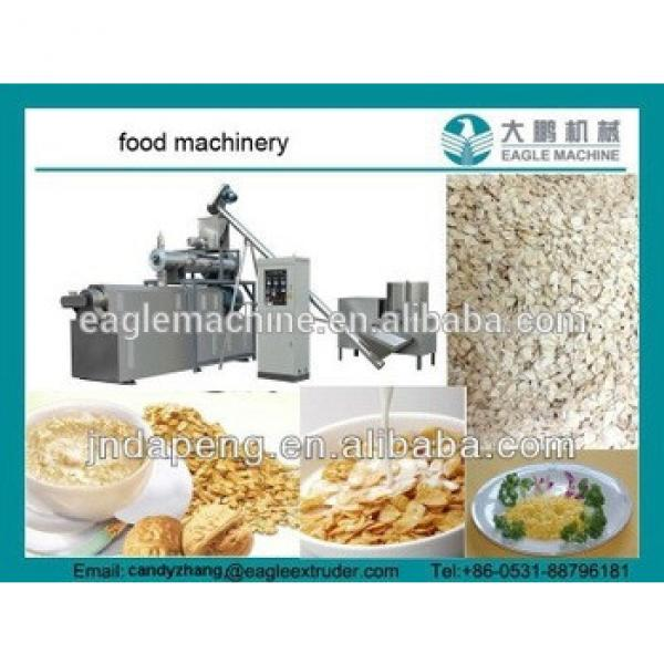 DP85 high output and CE certificate Corn flakes making machine, breakfast cereals snack processing equipment in china