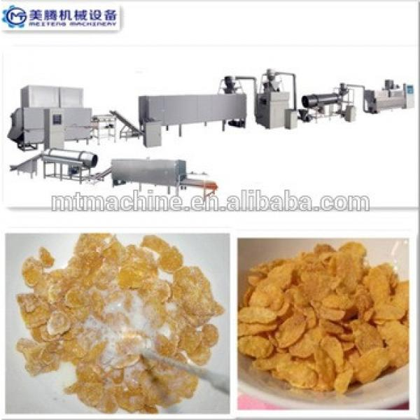 Industrial Breakfast Cereal Corn Flakes Making Machine