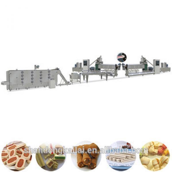 China Dog Chew Bone Snack Food Extruding Manufacturer Machine