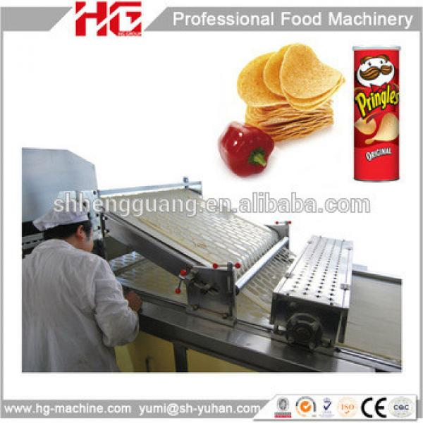 2016 hot selling Industrial productive potato chips making machine pringle brand