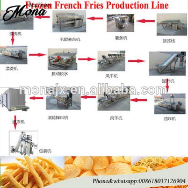 Industrial fresh potato chips clicing machine production line/potato chips making machine price/automatic potato chips machine