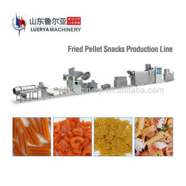 3d 2d fried fryum snacks pellet extrusion making machine