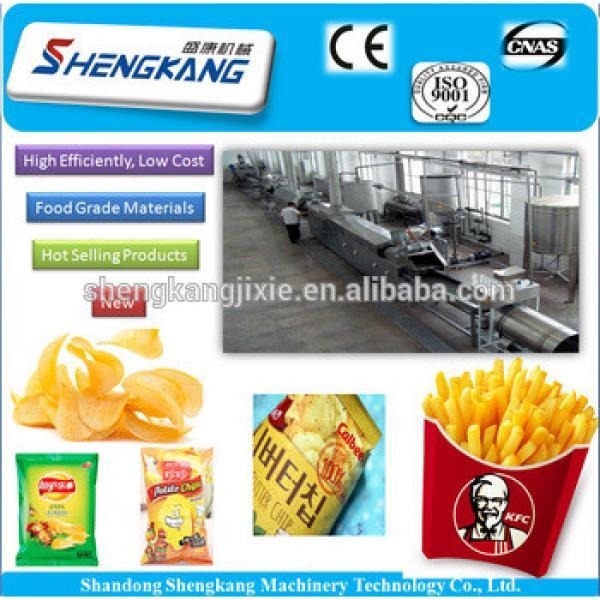 potato chips making machine/french fries,potato production line/potato processing machinery