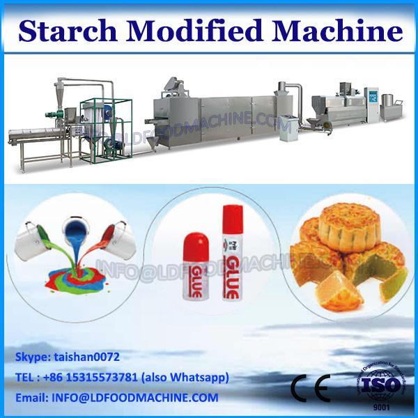 pregelatinized modified starch processing extruder machine
