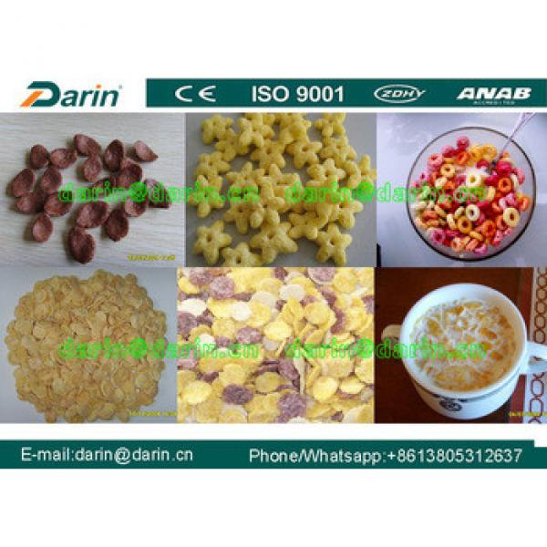 Breakfast Cereal Snack Food Manufacturing Machine/Plant/Equipment