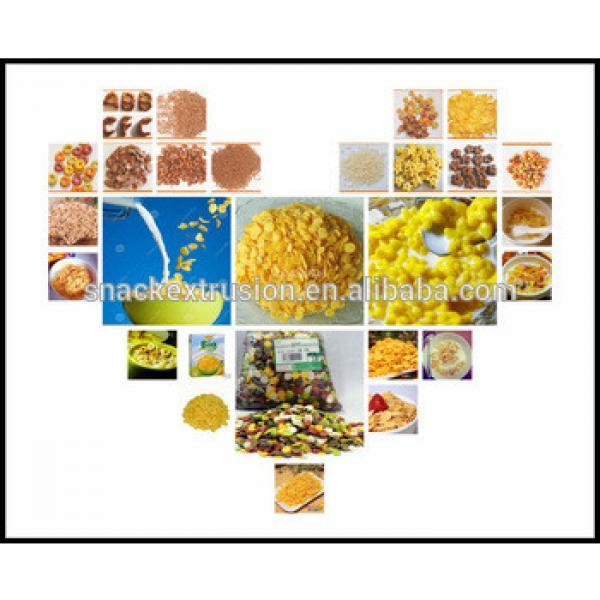 food extruder machinery Toasting Corn Flakes Machinery