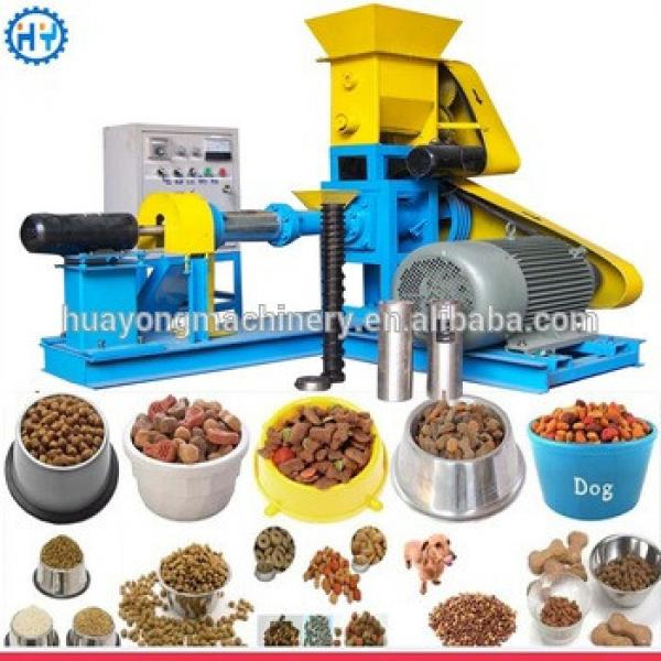 Dry type fish animal feed pellet machine