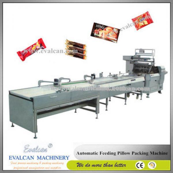 Granola bar packing horizontal flow pack machine
