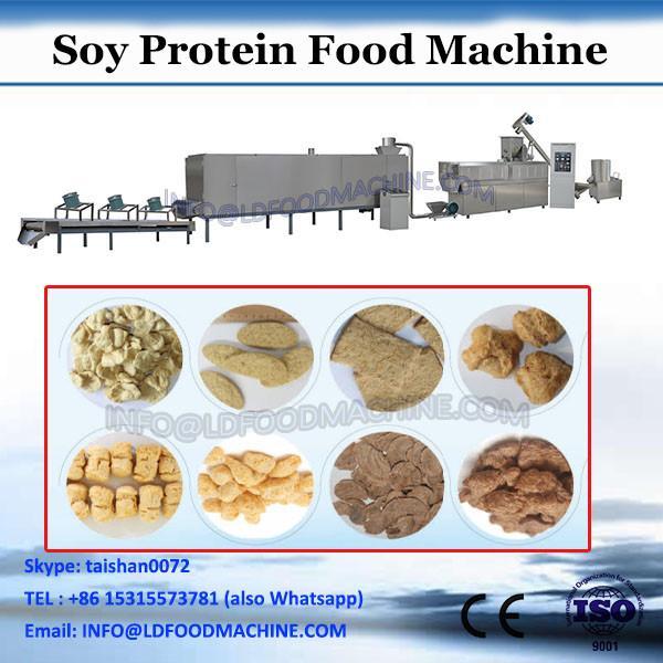 textured vegetable protein food extruder making machine