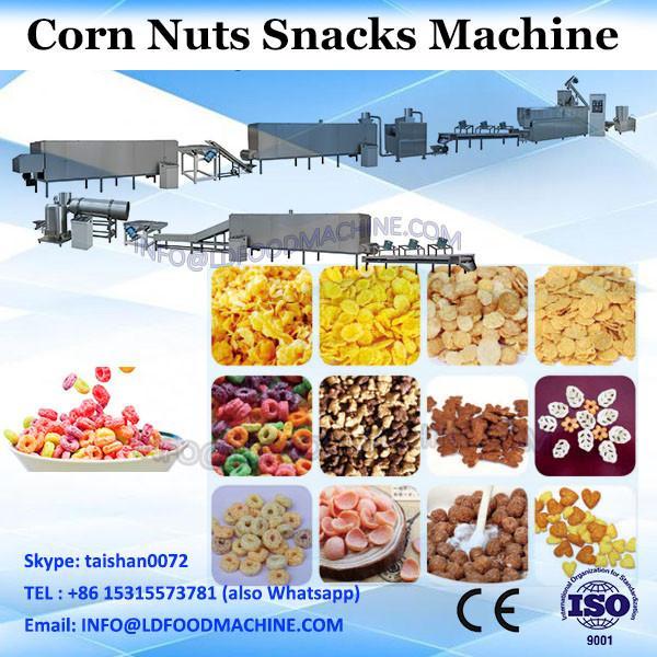 snack bar extruder machine