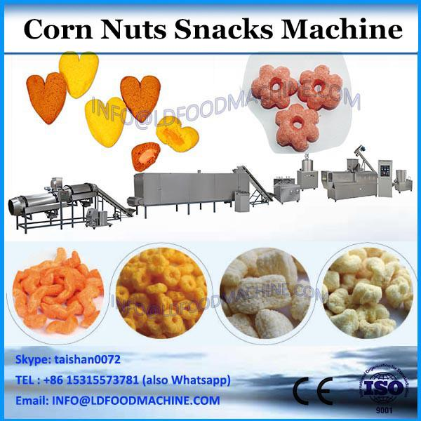 High barrier plastic pillow bag corn / nuts / chips snack packaging for sale