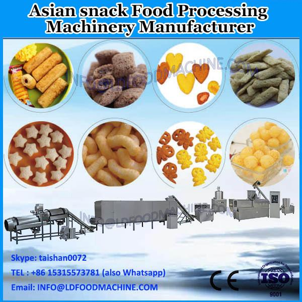 puffed snack food with chocolate filling processing machine