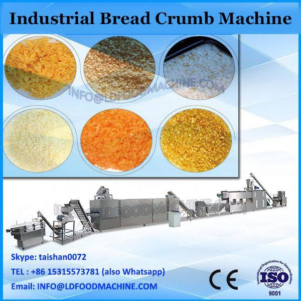 automatic dry bread crumb machine