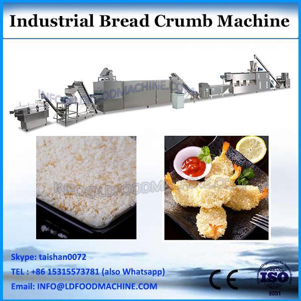 automatic industrial panko bread crumbs maker grinder machine