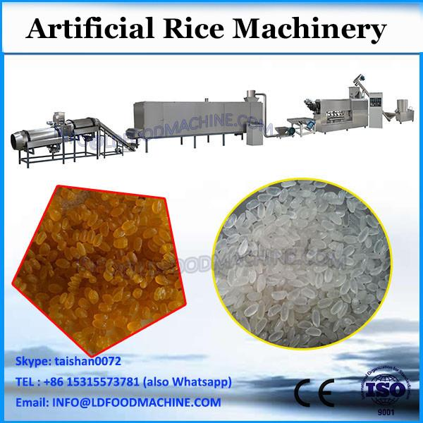 New design excellent automatic artificial rice machine, rice mill machine