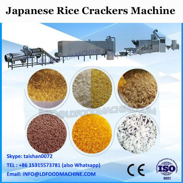 delicious chinese rice snacks machine