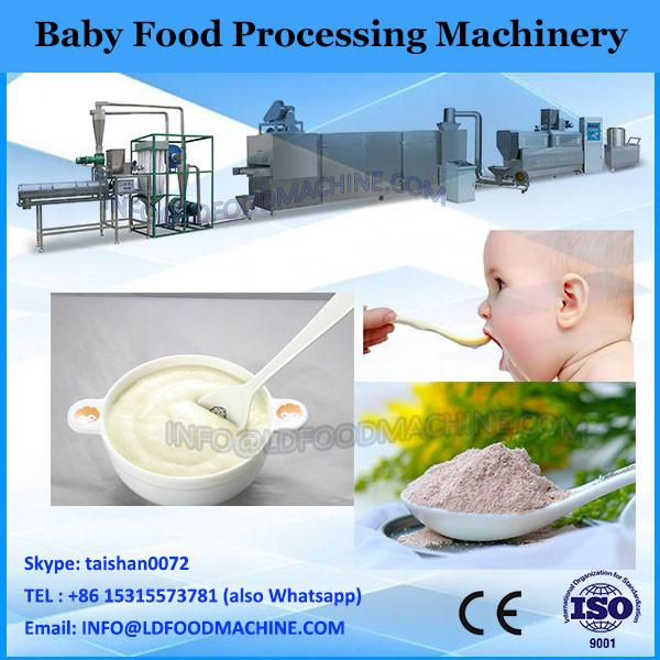 Full-auto stainless steel baby instant rice powder processing line