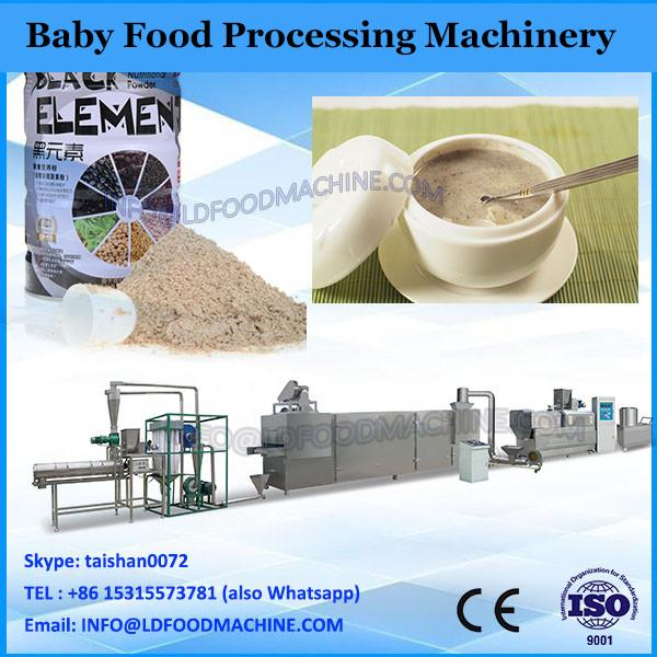 Nutritional baby food processing machine