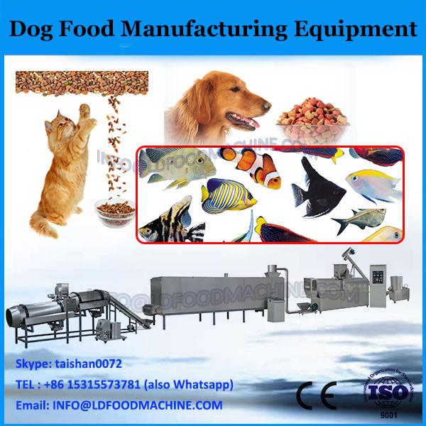 Big output animal feed equipment for dog fish cat bird