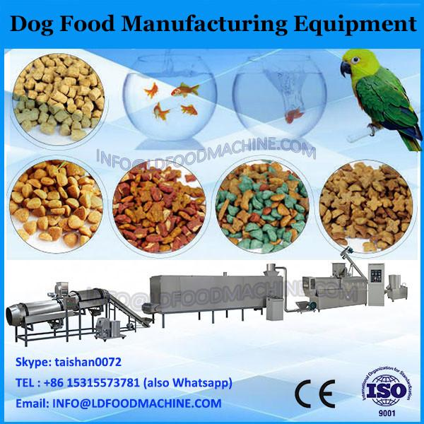 China factory made low cost dog food manufacturing equipment