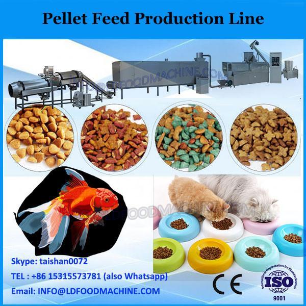 Flat die wood pellet machine production line/feed pellet machine