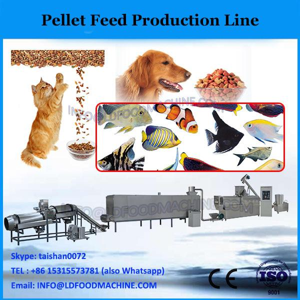 High efficiency low cost fish feed pellet production line