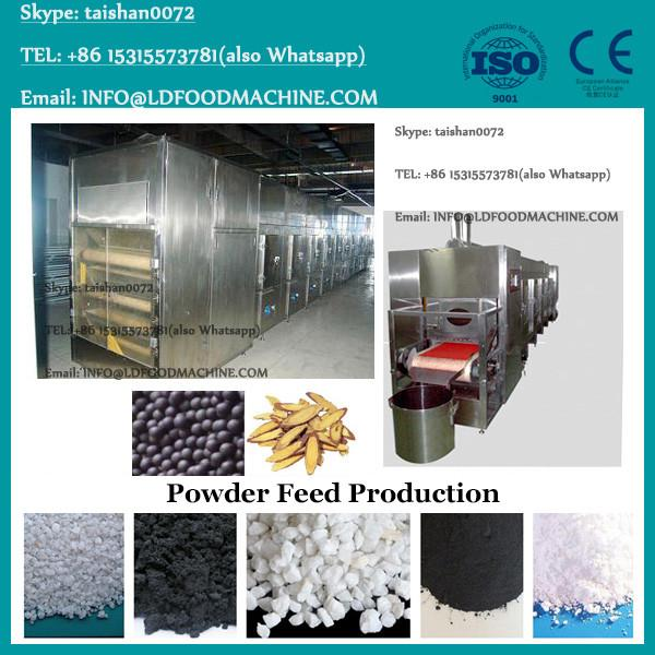 Chemical / mineral / fertilizer powder auger feeding double roller hydraulic compact hydraulic press