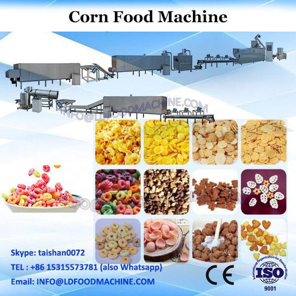 Industrial corn puffs snack food processing machine