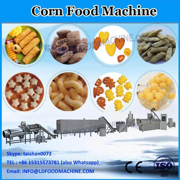 Crispy puffed Corn snacks food production extruder machine