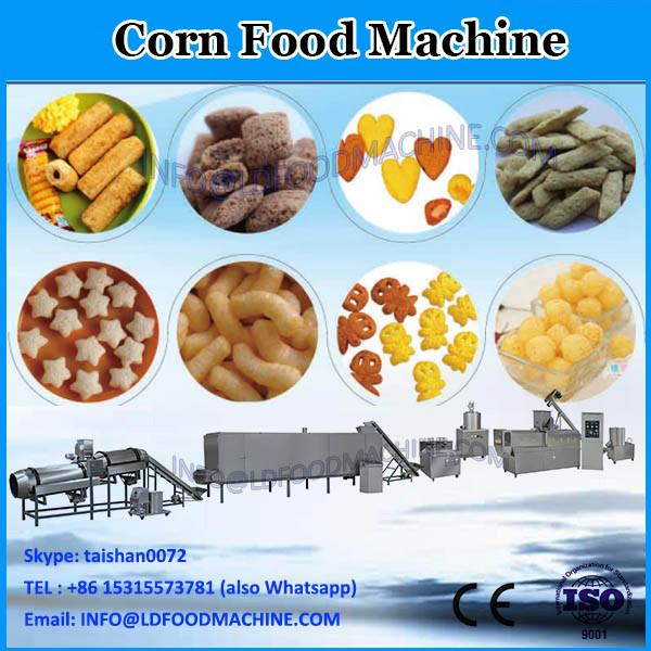 puffed extruded corn snack food making machine