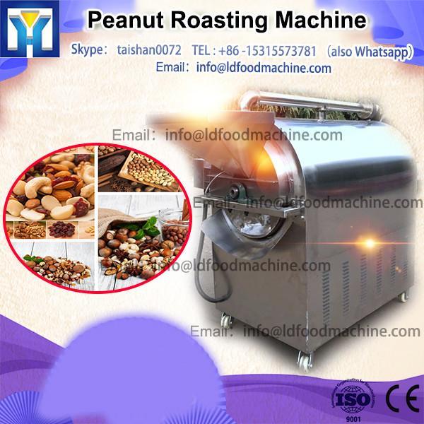 stainlesss steel electric/gas peanut roaster machine
