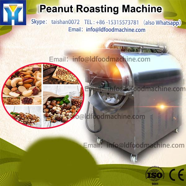 High capacity peanut roasting machine