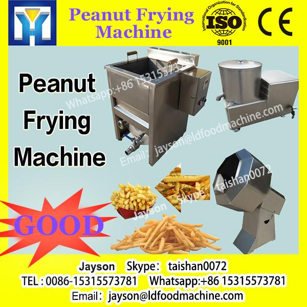 semi automatic gas stainless steel fried peanut processing machine