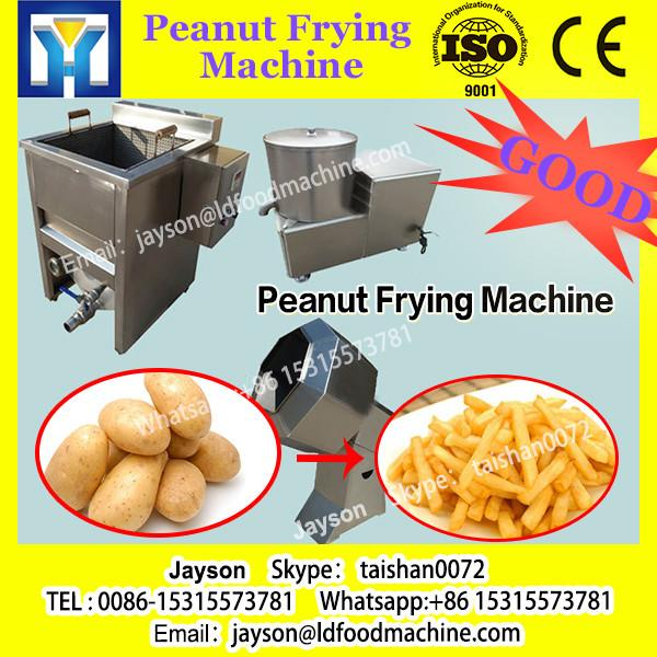 Food Fryer Machine with Automatic Stirring and Discharging Function|Gas Heating Potato Chips Fryer Machine