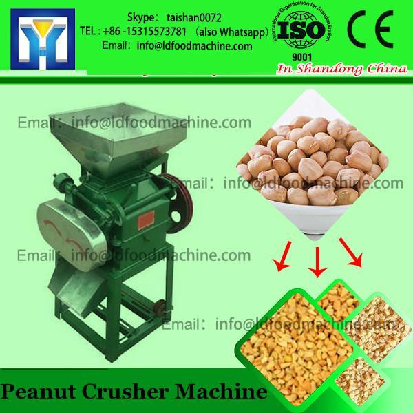 Wood log shredder machine peanut coconut shell husk crushing machine