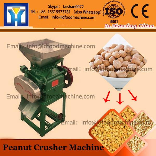 peanut shell reving peeling crushing machine