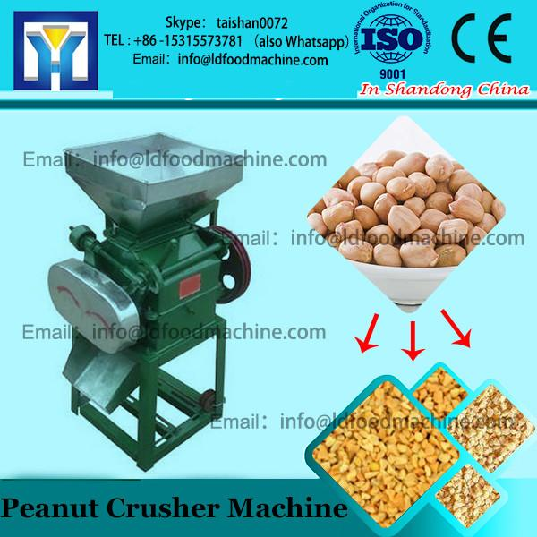 roasted peanuts crushing machine