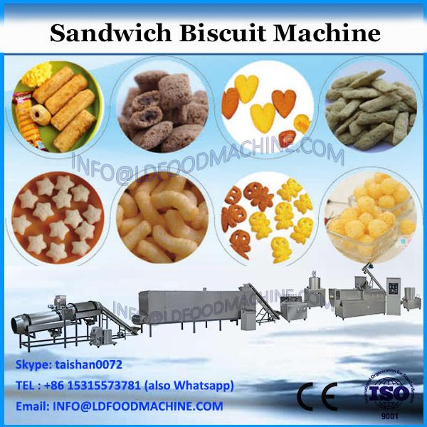 automatic feeding CE approved sandwich biscuit equipment