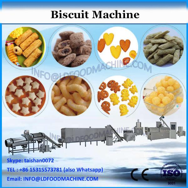 Automatic Sandwich Cookies Biscuits Production Line Sandwich Making Machine With Flow Packing Machine