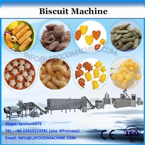 Cream biscuit sandwiching machine with food packaging machine