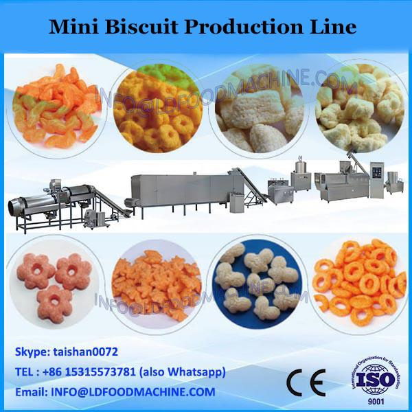 YX-BC1200 2016 Newly designed food confectionary professional CE full automatic mini biscuit making production line machine