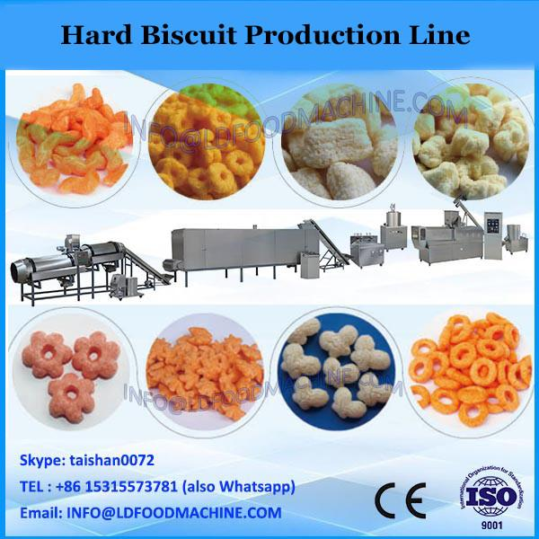 2015 popular good quality plant full automatic food confectionary soft and hard YX1000 biscuit making machine price